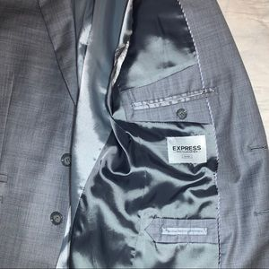 Express Suits & Blazers - Express Photographer 3-Piece Fitted Suit